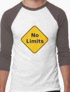 No Limits Men's Baseball ¾ T-Shirt
