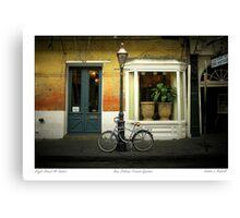 Royal Street Sunset  Canvas Print