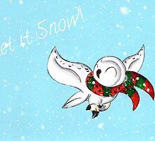Snowy Flight by KOKeefeArt