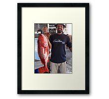 Redsnapper - Huachinango Framed Print