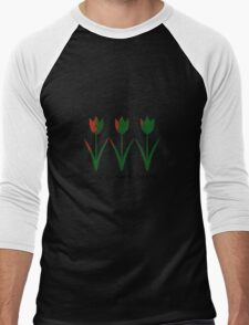 Look at the Flowers Men's Baseball ¾ T-Shirt
