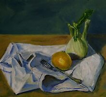 still life with fennel by Jeremy Wallace