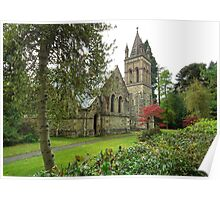 Bersham Church Wrexham N.Wales uk Poster