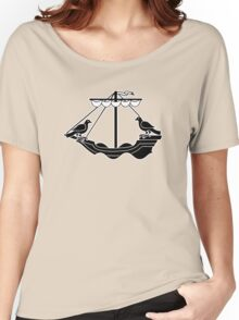 lisbon lisboa boat portugal Women's Relaxed Fit T-Shirt