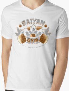 Saiyan gym 2.0 Mens V-Neck T-Shirt