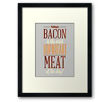 As The Old Saying Goes Framed Print