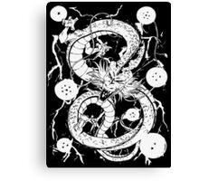 Dragon Ball - Shenron 7 Dragon Balls Canvas Print