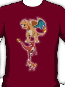 Pokesaurs - Charisaurs T-Shirt