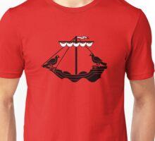 lisbon lisboa boat portugal Unisex T-Shirt