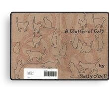 A Clutter of Cats Canvas Print