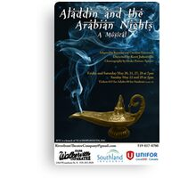 Aladdin and the Arabian Nights Canvas Print