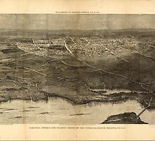 Panoramic Maps Saratoga Springs and vicinity scene of the inter-collegiate regatta see page 626 by wetdryvac