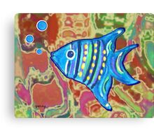 Angel Fish Canvas Print