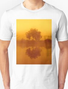 The Golden Tree at dawn Unisex T-Shirt