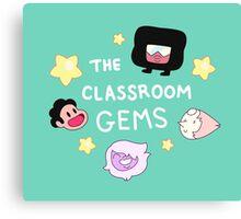 The Classroom Gems! // Steven Universe Crystal Gems Chibi Canvas Print