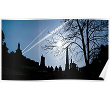 """ Scottish Sky"" Poster"