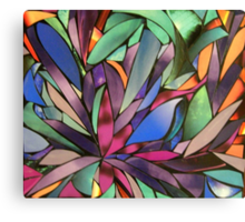 Pieced Back Together Canvas Print