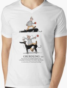 Grurdling Mens V-Neck T-Shirt