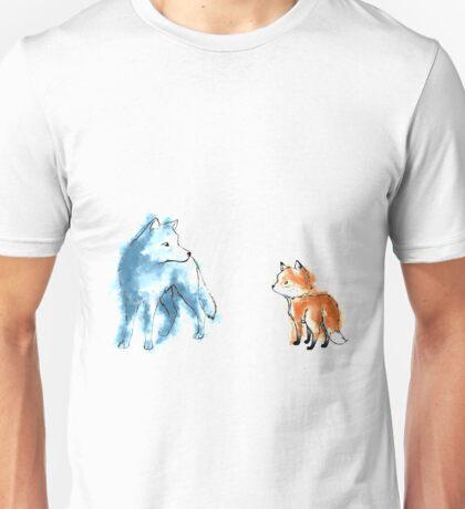 A chance meeting Unisex T-Shirt