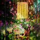 Garden of Time i phone case by LaRae55
