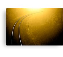 On Track .. Canvas Print