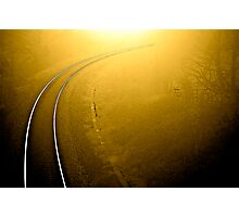 On Track .. Photographic Print