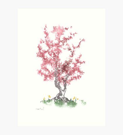 Little Zen Tree 562 Art Print