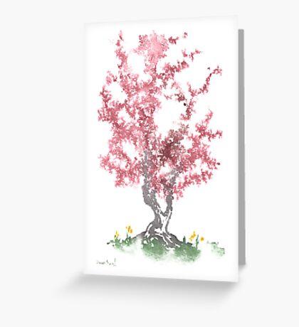 Little Zen Tree 562 Greeting Card