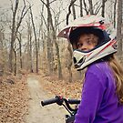 my niece on her quad :) by eelsblueEllen