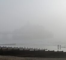 Eastbourne Pier in The Mist by PhotogeniquE IPA