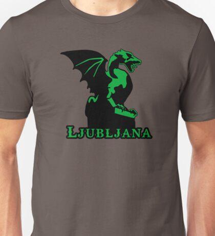 Slovenija dragon Ljubljana Unisex T-Shirt