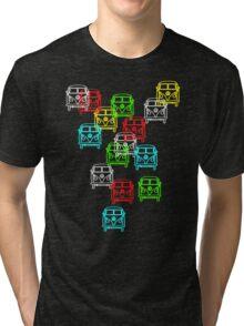 Multi Colour Campervan Tri-blend T-Shirt