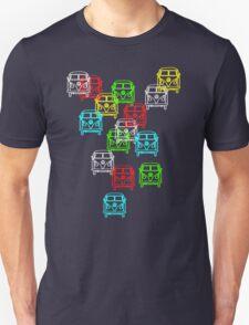 Multi Colour Campervan Unisex T-Shirt