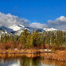 Spring Morning at Vermilion Lakes by Justin Atkins