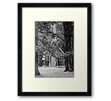 Yosemite House of God Framed Print