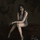 Female Figure Study Digital Painting 2 by JamieTifft