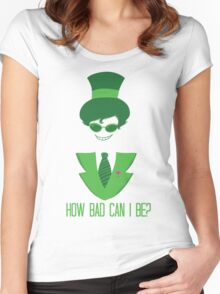 How Bad Can I Be? Women's Fitted Scoop T-Shirt