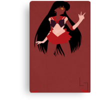 Sailor Mars Canvas Print