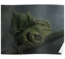 Bulbasaur- Pokemon Concept Digital Painting Poster