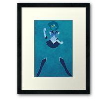 Sailor Mercury Framed Print