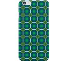 Green Squares iPhone Case/Skin