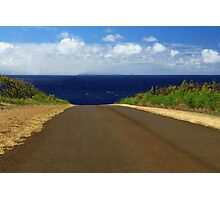 The Road To Maui Photographic Print
