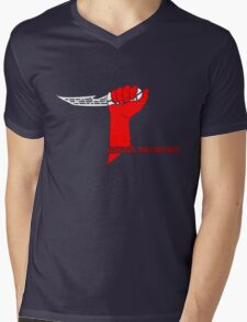 Long Live the Fighters Mens V-Neck T-Shirt