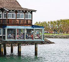 Restaurant on Stilts by heatherfriedman