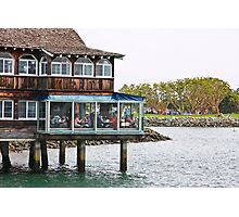 Restaurant on Stilts Photographic Print
