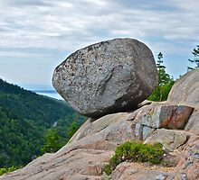 Bubble Rock, Acadia National Park, ME by Dan Hatch