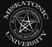 Miskatonic University Logo by AtlantianKing