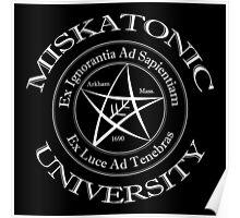 Miskatonic University Logo Poster