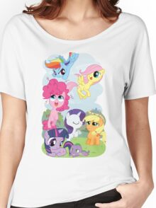Filly Mane 6 Women's Relaxed Fit T-Shirt