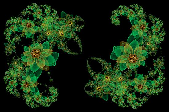 Spirograph Fractal Garden by TonyaSanders